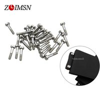 Wholesale Silver Screw Clasp - Wholesale-6pcs 1mm Silver Stainless Steel Polished Watchbands Watch Band Strap Screw Parts Adaptation Men Watches