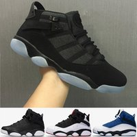 Wholesale Best Sale Ring - Free Shipping Wholesale Cheap online hot Sale New Best basketball shoes Air Retro 6 VI RINGS Carmine Sneaker Sport Shoe VI US 7-11