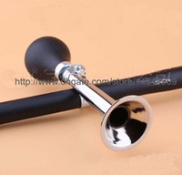 Wholesale Wholesale Bike Prices - Best Price 100pcs lot # Bicycle Bike Retro Metal Air Horn Bugle Rubber Bulb 9 inch Black Color Free Shipping