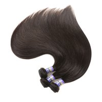 adorável Angle cabelo Indian Straight Weave 100g / Piece cabelo humano Bundles Color Natural Remy Cabelo 10-28 Inch