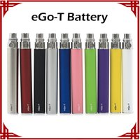 Ego-t Batterie Cigarette électronique E-cig Ego Batteries match CE4 CE5 clearomizer 510 fil batterie Ego t Batterie