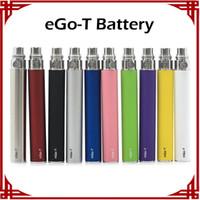 Wholesale Ego T Cig Ce4 Ce5 - Ego-t Battery Electronic Cigarette E-cig Ego Batteries match CE4 CE5 clearomizer 510 thread battery Ego t Battery