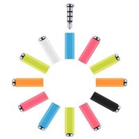 Wholesale Dust Plug Retail - Original Xiaomi Mikey Mi Key Smart Quick Button One Click Auxilary Button Gadget Button 3.5mm Earphone Jack Dust Plug with retail package