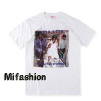 Wholesale I Hip Hop Shirt - 2017 Fashion 2Pac I Rap-A-Lot Geto Boys Tee PARENTAL ADVISORY box logo Hip hop Skateboard T-shirt Men Women Cotton Casual TShirt