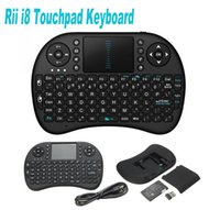 Fly Air Mouse Rii Mini i8 2,4 ГГц беспроводная QWERTY-клавиатура с тачпадом для PC PadNotebook Google Android TV Box Xbox360 PS3 HTPC IPTV