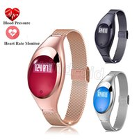 Smart Wristband Z18 Bluetooth Bracelet Sangue Pressure Oxygen Heart Rate Monitor Waterproof Pedometer para iOS Android Women Men Cheap 20pcs