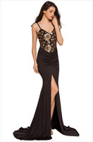 Wholesale Slit Floor - Free shipping Size S M L New Fashion Strap Tight Pleated Dresses V Neck Slit Sexy Backless Bodycon Floor Length Sequin Maxi Dress