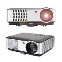 Wholesale Rigal RD Full HD p Business Education Home LED Theater Projector come with HDMI TV VGA AV Function