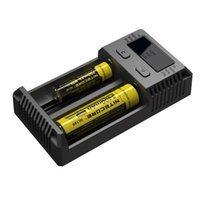Wholesale Battery Aa C - 2017 New Intellicharger i2 Nitecore Universal Battery Charger With EU Plug For 26650 18650 14500 CR123A 16340 Ni-MH AA AAA C Battery