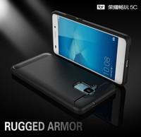 Wholesale Huawei Honor Soft Case - Soft Silicone TPU Anti Knock Carbon Fiber Slim Case For Huawei Honor 5C 5 C Honor 7 lite Huawei GT3 Cover Coque Funda