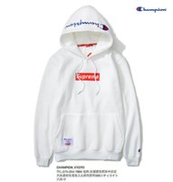 Wholesale High Collar Hoodies - High Quality off white Hoodie Men Women Cotton kanye west Brand Clothing Reflective Skateboards Sweatshirts Hip Hop Palace Hoodie