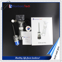 Wholesale Silicon Screw - kanboro 510 Nail e-cigarette for wax vaporizer burn better insulation screws on nail 510 thread for box mod unit one kit free shipping..
