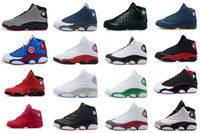 Wholesale Cheap Mens Shoes Free Shipping - Free shipping 2016 Wholesale Cheap Hot New Air Retro 13 13s Mens Basketball Shoes Sneakers XIII Original Quality shoes US 8-13
