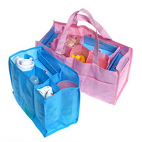 Wholesale beds protection resale online - Reticule lining Separate Mommy Bags Lattice Liner Bag In Bag Environmental Protection Durable Storage Package Various Colors Hot yq J R