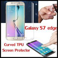 protector de pantalla frontal de iphone al por mayor-Para iphone 7 plus 6 6 s samsung galaxy s8 plus s6 s7 edge cuerpo completo cubierto parte posterior TPU protector de pantalla Film Guard