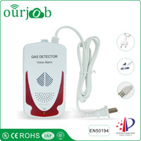 Wholesale Natural Gas Detectors - LPG Natural Gas Alarm Combustible Gas Leak Detector for Home Security