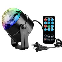 Tanbaby PARTY LIGHTS DISCO BALL 3w Led Strobe Stage light con control remoto para DJ Bar Karaoke Xmas Wedding Show Club Pub