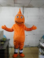 Wholesale Adult Clown Fish Mascot - Hot new clown fish mascot Costume Cartoon Character Costume Adult Fancy Dress Halloween carnival costumes EMS Free Shipping