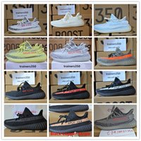 Wholesale Box Best - Blister packing Season 3 SPLY 350 Boost V2 With Box Best Quality men shoes women running Shoes Sneakers 350 Boost V2 basketball shoes