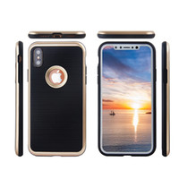 Wholesale galaxy stylus - PC+TPU Armor Case For Iphone X 10 8 7 Plus Samsung Galaxy Note8 S8 LG Stylus 2 Redmi 5S Huawei P10 No Logo