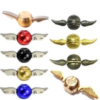 Wholesale Mini Toy Top - 2017 New Spinning Tops Harry Potter Spinner Metal Antistress Cupid Angle top Spiner Toys Model Stress Relief Fidget Spinners