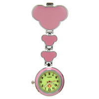 Wholesale Nurse Brooch Style Watch - New Style Face Nurse Watch Clip Fob Brooch Pendant Hanging Pocket Watch Fobwatch reloj de pulsera