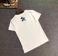Wholesale G Bell - G new spring and summer letters printed cotton loose T-shirt round neck short-sleeved size S-XL