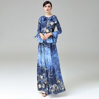 Wholesale Sexy Animal Printed Prom Dresses - Hot Sale White Split Long Evening Dresses 2017 High Quality Sleeves Sexy V-Neck Formal Prom Party Gowns with Golden Belt