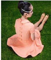 neue kleider mädchen revers großhandel-Neue Kinder Latin Dance Kleid Mädchen süße kleine Revers Schmetterling Knoten Rumba Tango Sasa Samba Ballsaal Leistung Kostüm Wettbewerb