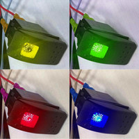 Compra Bar Di Automobili-5Pcs Pin impermeabile 12V 20A Bar Rocker Toggle Switch LED Light Car Boat B00428