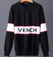 Wholesale Shirt Button Covers Men - Winter giv Men's Sweaters Europe Paris American Stars Fashion Men Luxury Sport Sweater Casual Women classic Shirt Pullover O-Neck Knitwear
