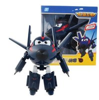 Big !!! 15cm ABS Super Wings Deformation Robot d'avion Figurines d'action Super Wing Transformation jouets pour cadeaux enfants Brinquedos