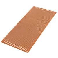 prototyp leiterplatten leiterplatten groihandel-Elektrische Einheit 10 cm x 22 cm einseitig Kupfer Prototyping Papier PCB Leiterplatte Test Board Prototyp Brotschneidebrett