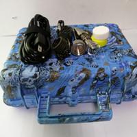 e nagel neu großhandel-New Pelican E Digital Nail Kit elektrischer Tupfernagel Universal DNail Set für 10 16 20mm Heizspule Pelican Box