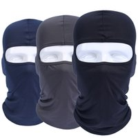 Wholesale Tactical Airsoft Helmets Wholesalers - Balaclava Breathable Quick Dry Head Cover Motorcycle Tactical Military Army Airsoft Helmet Liner Cap Hats Protect Full Face Mask