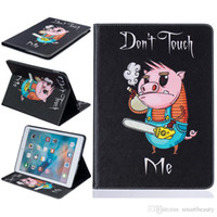 "Wholesale Ipad Mini Bear Cases - Bear pattern PU Leather Flip Case for Apple iPad air1 2 iPad mini1 2 3 iPad 2 3 4 pro 9.7""Case With Card Holder"