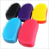 Wholesale Detangling Hairbrush - Brush Comb Hairbrush Elite Version Hair Care Styling Tools Detangling Handle Hairbrush 2016 Hot selling in UK