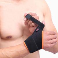 Wholesale Finger Pain - Wholesale- Wrist Brace Arthritis Pain Thumb Loop Finger Wrist Support Strap Stabilizer Spring Support,Wrist wraps Reversible, Carpal Tunnel
