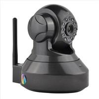 мегапиксельная внутренняя сетевая камера оптовых-Домашней безопасности беспроводной мини IP-камера видеонаблюдения Wifi 720P ночного видения CCTV камеры монитор младенца
