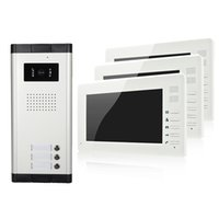 """Wholesale Cute Apartments - XSL-V70I-520-1V3 apartments video door phone 7"""" LCD color screen with cute appearance and high quality 3 buttons camera easy install"""