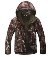 Wholesale Waterproof and anti wind resistant Outdoor hunting jacket variety camouflage color
