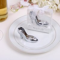 Wholesale Wedding Favors High Heel Shoe - Wedding Favors high-heeled shoes design beer bottle opener Practical Favors wedding party gifts for free shipping F2017261