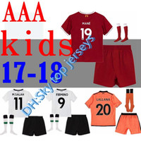 Wholesale Product Detail - Product detail . free shipping top quality kids kit + socks 2017 2018 Gerrard Jersey 17 18 home COUTINHO MANE Sturridge Lucas Run