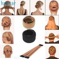 Wholesale Headband Beauty - New Beauty Girl Hair DIY Styling Donut Former Foam French Twist Magic Tools Bun Maker M23X17