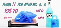 x sim para iphone 4s venda por atacado-R SIM 11 RSIM11 r sim11 rsim 11 cartão de desbloqueio para o iphone 5 6 7 6 plus iOS7 / 8/9 / ios 10 GSM ios10CDMA / WCDMA SB AU SPRINT 3G 4G