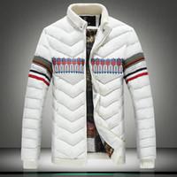 Wholesale Mens Jackets Canada - Wholesale- Fashion winter Jackets Mens top quality canada thick cotton parka homme Parkas M-4XL big yards men jacket #1515