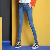 Wholesale Slim Product China - Women s jeans pants High quality stretch fabric Skinny jeans womens Jeans brands shop from china Best wholesale products