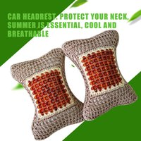 Wholesale Car Seat Head Rest Pillow - Car Auto Seat Head Neck Rest Cushion Headrest Pillow Pad Safety Pillow 2 Colors free shipping