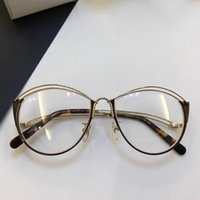 Wholesale Italian Brand Glasses - 2535 Luxury Glasses Summer Style Cat Eye Optical Lens Popular Women Brand Designer Top Quality Italian Fashion Cat Eye Style Come With Box