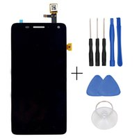 obile Telefone Acessórios Peças Telemóvel LCDs ocolor Para Lenovo S660 LCD Display + Touch Screen Digitizer Painel Screen Screen Assembly Re ...